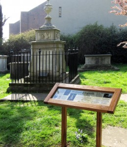 restored Hogarth tomb