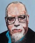 Peter Blake, Self Portrait in watercolour